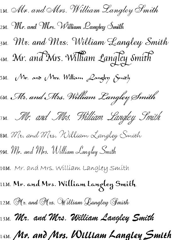 Shannons Calligraphy All Available Font 1